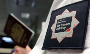 UK Border Agency official